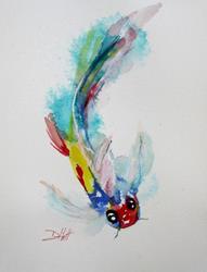 Art: Koi by Artist Delilah Smith