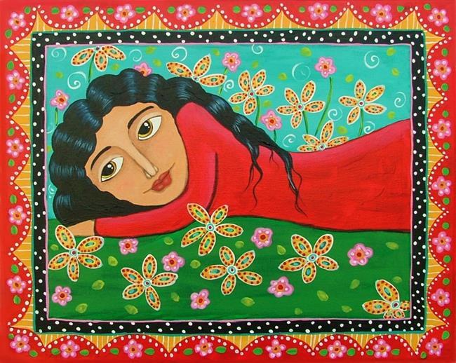 Art: Summer Time by Artist Cindy Bontempo (GOSHRIN)