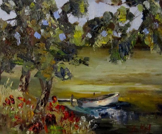 Art: Rivers Edge by Artist Delilah Smith