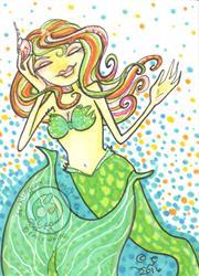 Art: Musical Shell by Artist Emily J White