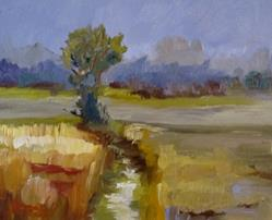 Art: Marsh-sold by Artist Delilah Smith