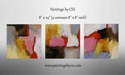Art: Unfamiliar Place by Artist Christine E. S. Code ~CES~