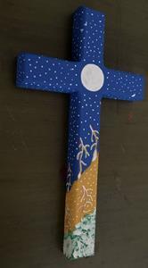 Detail Image for art Golden Snowflakes