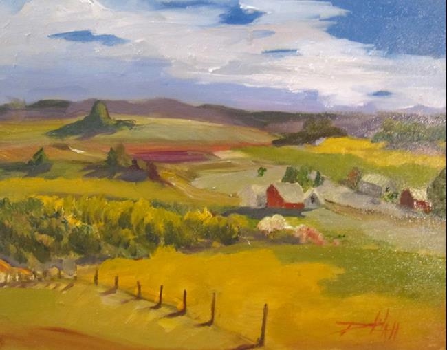 Art: The Farm by Artist Delilah Smith