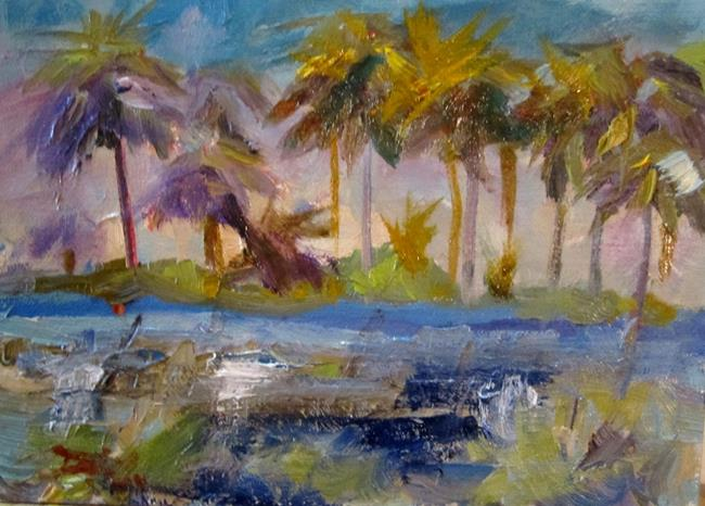 Art: Tropical Reflections by Artist Delilah Smith