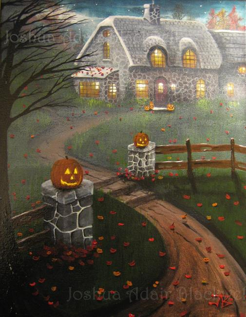 art halloween art j a blackwell original painting fantasy fairy tale art sleep by artist j a