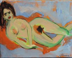 Art: nude 1 by Artist Nancy Denommee