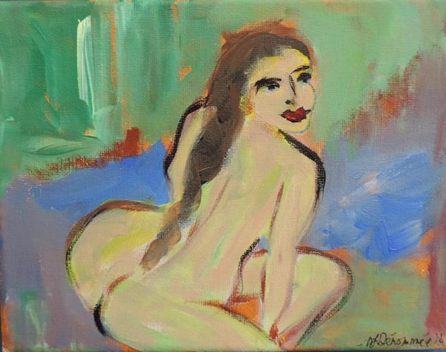 Art: nude 2 by Artist Nancy Denommee