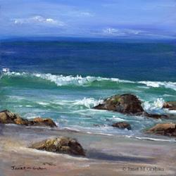 Art: Kirra Beach by Artist Janet M Graham