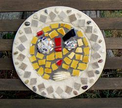Art: face bench1 by Artist Naquaiya