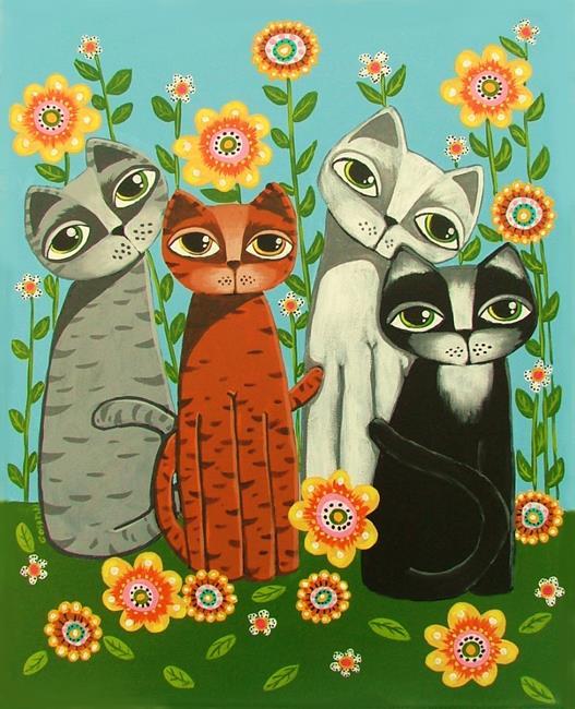Art: Peaceful Living by Artist Cindy Bontempo (GOSHRIN)