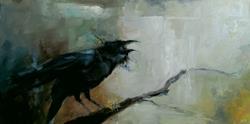 Art: Scavenger's Lament by Artist Christine E. S. Code ~CES~