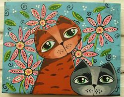 Art: Sweet Eyes by Artist Cindy Bontempo (GOSHRIN)