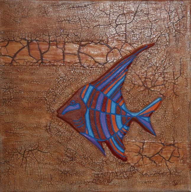 Art: Here Fishy Fishy by Artist Joeallen Gibson