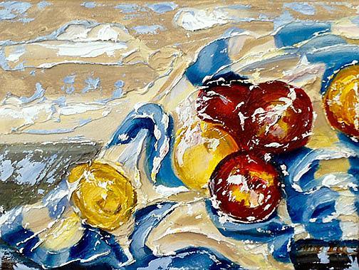Art: In Tamara's Kitchen by Artist Alma Lee