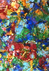 Detail Image for art Encaustic Abstract