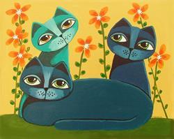 Art: Sapphire by Artist Cindy Bontempo (GOSHRIN)