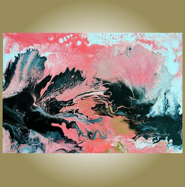 Art: Coral Overture (sold) by Artist Amber Elizabeth Lamoreaux