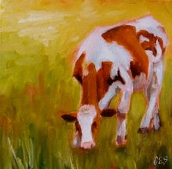 Art: Grazing by Artist Christine E. S. Code ~CES~