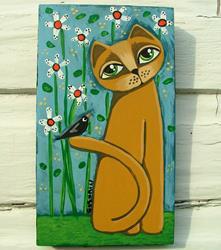 Art: Little Friend by Artist Cindy Bontempo (GOSHRIN)