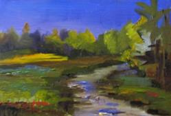 Art: Crystal River by Artist Delilah Smith