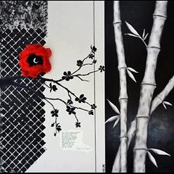 Art: Bamboo & Blossom by Artist Vicky Helms