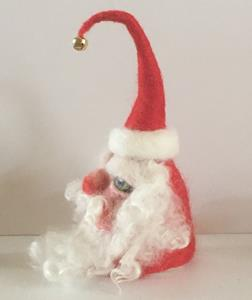 Detail Image for art Needle Felted Santa