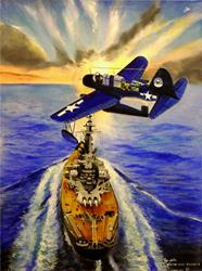 Art: KingFisheroverAlabama by Artist Roy S. Alba