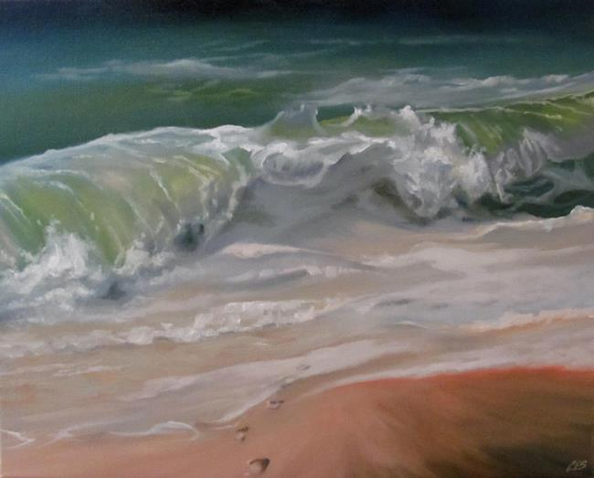 Art: Memories Into the Ocean by Artist Christine E. S. Code ~CES~