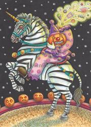 Art: SLEEPY HOLLOW CIRCUS by Artist Susan Brack