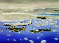 Art: Convoy by Artist Roy S. Alba