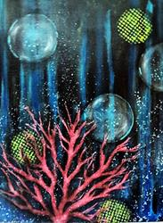 Art: Coral Magic by Artist Vicky Helms