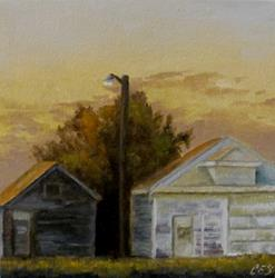 Art: Farmyard Light by Artist Christine E. S. Code ~CES~