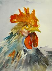 Art: New Rooseter by Artist Delilah Smith