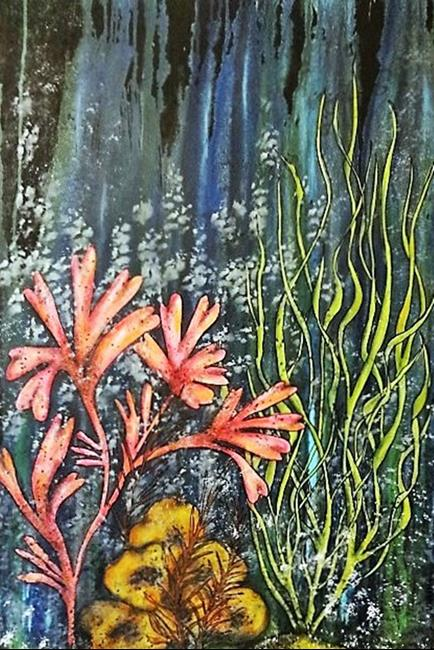 Art: Under the Sea (GIFTED) by Artist Vicky Helms