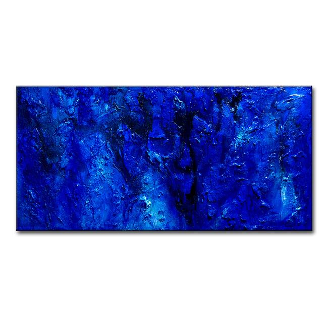 Art: BLUE LAGOON 35 by Artist HENRY PARSINIA