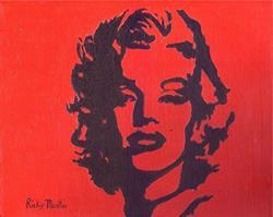 Art: Marilyn - sold by Artist Ulrike 'Ricky' Martin