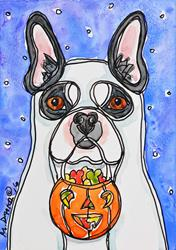 Art: Ghostly Boston by Artist Melinda Dalke