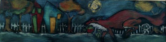 Art: The Stolen Apple by Artist Chris Jeanguenat