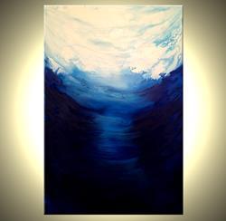 Art: Melting Clouds by Artist Daniel J Lafferty