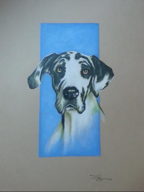Art: Great Dane by Artist Richard R. Snyder