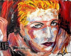 Art: Anne Lennox by Artist Alma Lee