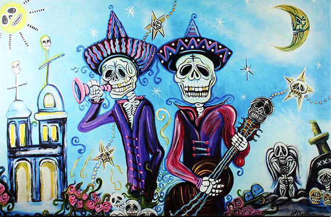 Art: Secrets of the Mariachi (Limited Edition Print 1/25) by Artist Laura Barbosa
