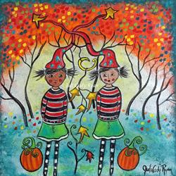 Art: Autumn's Arrival by Artist Juli Cady Ryan
