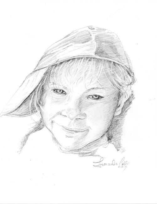 Art: Ella by Artist Leonard G. Collins