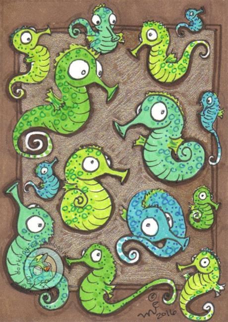 Art: Frenzy by Artist Emily J White