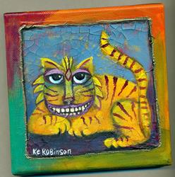 Art: Alice's Cheshire CAT by Artist Ke Robinson