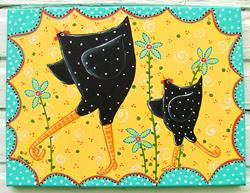 Art: Good Morning by Artist Cindy Bontempo (GOSHRIN)