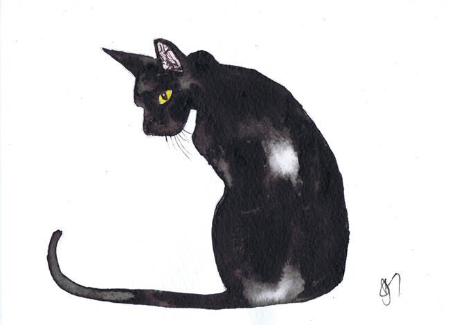Art: CAT c328a by Artist Dawn Barker