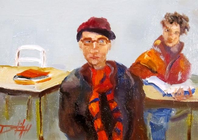 Art: Study Hall by Artist Delilah Smith